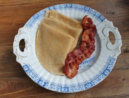 Pannekaker utan egg, mjølk og gluten