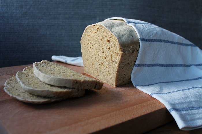 Glutenfritt brød med kikerter