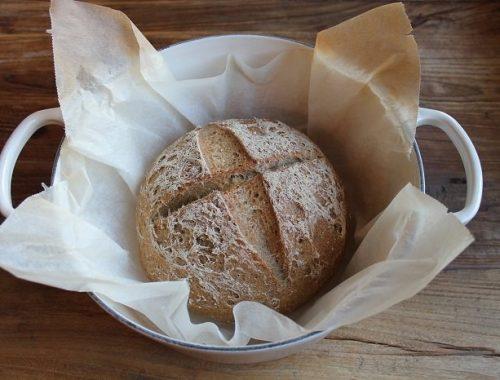 Glutenfritt fransk landbrød med surdeig